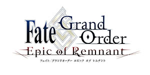 Fate/Grand Order Epic of Remnant ロゴ