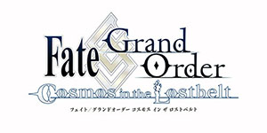 Fate/Grand Order Cosmos in the Lostbel ロゴ